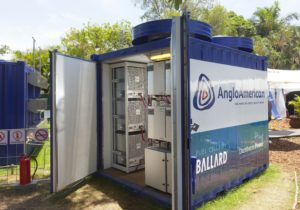 Anglo American Platinum has been working on fuel cell technology for a number of years