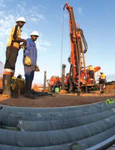 The Kamoa project will provide significant volumes of copper once developed