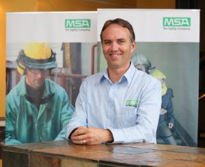 MSA Africa MD, Colin Oliver
