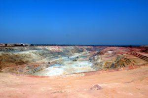 AngloGold Ashanti Mali operation - Sadiola open pit mine