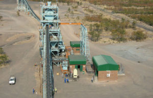 African Copper's Mowana plant which will process the Thakadu ore until June 2015