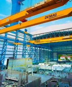 Demag Cranes in Africa help build a continent