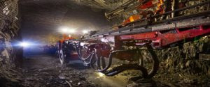 Underground at Acacia Mining's Bulyanhulu mine