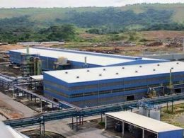 Gabon smelting complex beneficiation