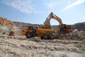 The Murowa Diamonds open pit