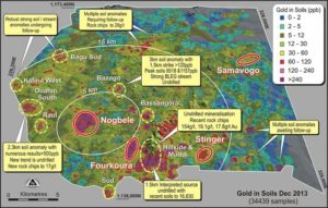 The Banfora gold project, located in the south-west of Burkina Faso, is a significant undeveloped gold resource in West Africa