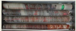 Core samples from the Kola project