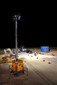 Atlas Copco's compact and cost saving QLB 60 light tower
