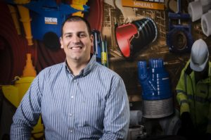 Rui Gomes, product manager for slurry pumps at Weir Minerals Afric