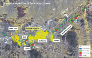 Resource additions at Orca Gold's Galat Sufar South
