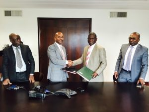 Gabon's state-owned mining compnay Société Equatoriale des Mines (SEM)  and the Guinea national mining company Société Guinéenne du Patrimoine Minier (SOGUIPAMI) sign cooperation agreement