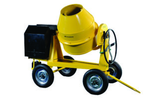 The H-Power Concrete Mixer is one of the H-Power products supplied by Goscor Power Products' new Zambian dealer