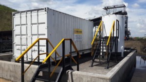 Containerised and air-conditioned Dust suppression Systems