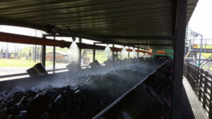 Dust Prevention Systems installed at Coal Conveyer Belt
