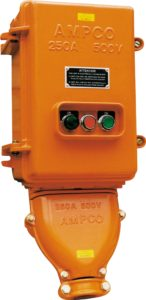 Switched sockets PVC from Ampco - manufacturer of plugs & sockets suitable for underground operations
