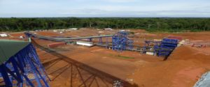 Aureus Mining's New Liberty Gold mine in Liberia should reach commercial production by the end of May