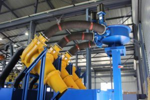 Weir Minerals offers a range of equipment solutions including hydrocylones, rubber lining, hoses and slurry valves