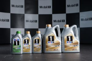 The Mobil 1 family of lubricants