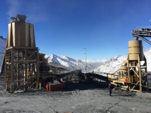 Osborn modular plant operating in testing conditions at the Dunde iron ore processing plant in China's Xinjiang province