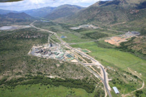 Aerial view of the Two Rivers mine. Photograph courtesy of ARM