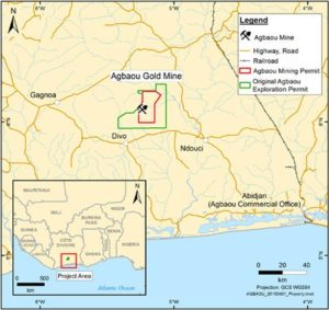 Endeavour Mining has defined additional oxide mineralisation at Agbaou in Côte d'Ivoire