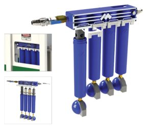 Installing the Compressed Air Management System results in reduced running costs and improved operational safety and serviceability