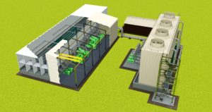 BBE Projects has paid special attention to  overall system efficiency and low power consumption of the cooling system