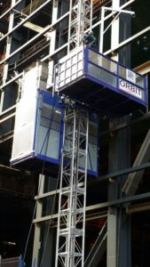 The Orbit personnel and material hoists provide safe, effective and efficient services