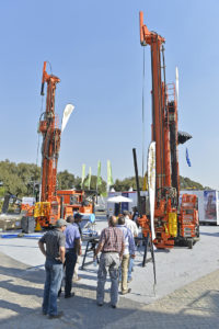 Outside exhibit at Electra Mining Africa 2014