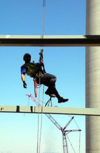 Rope access is one of the most efficient ways to carry out maintenance