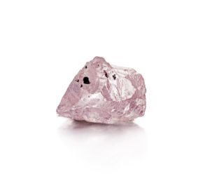 A 32.16 ct pink diamond recovered by Petra Daimonds from the Williamson mine in November 2015