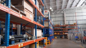 Babcock's Middelburg branch has a 1 615 m2 warehouse which can accommodate the inventory and stock lines required for the Terex Truck range.