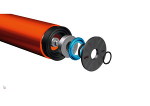 The new composite rollers deliver significantly more value than competing steel rollers.