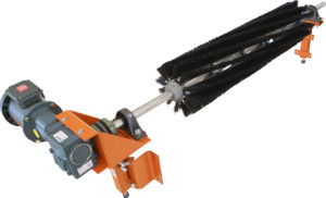 Brush Cleaners are specially designed secondary cleaners for the removal of fines and residue