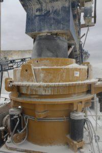 Trio TC36 short head cone crusher in tertiary crushing application
