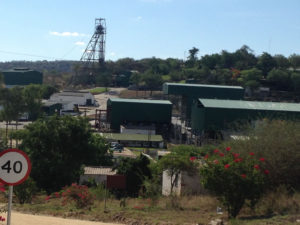 The well-established Blanket gold mine is located in the south-west of Zimbabwe approximately 15 km west of Gwanda