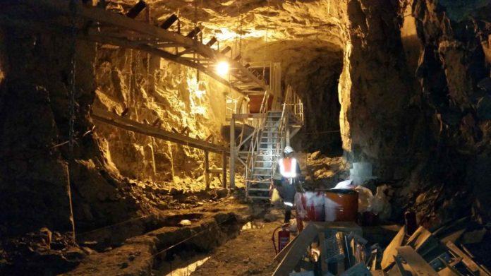 Lace Diamond mine