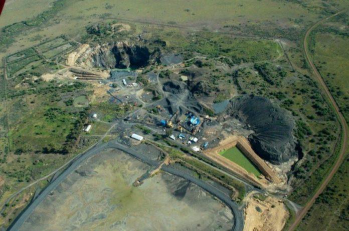Diamond Corp Lace diamond mine