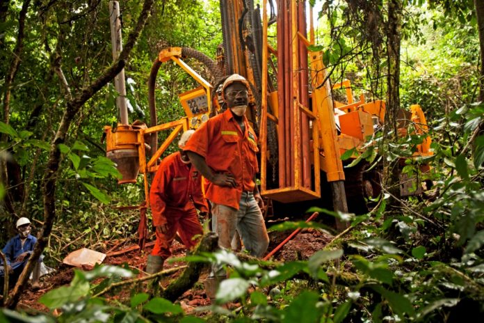 African Mining Services Ghana Edikan