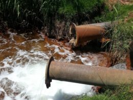 Acid mine drainage AMD