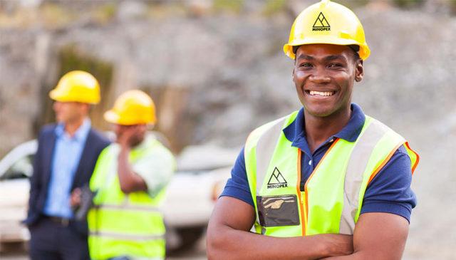 Minopex-mining worker