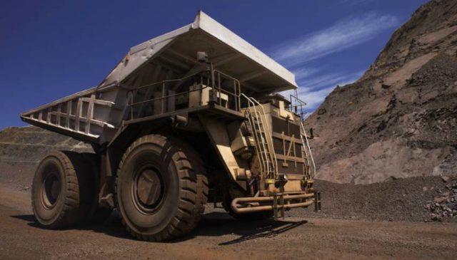 Komatsu Thabazimbi mine Anglo American materials handling