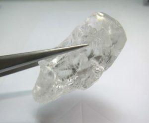 Lulo 129 carat diamond