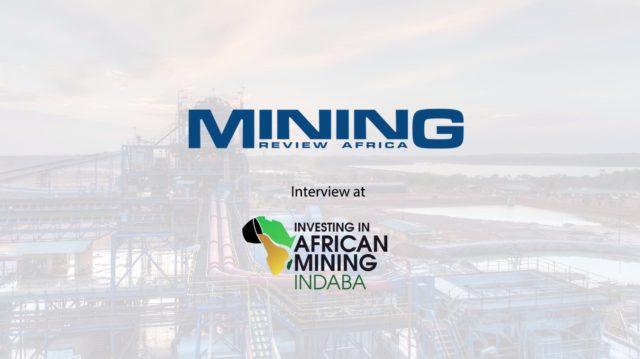 Interview at Mining Indaba