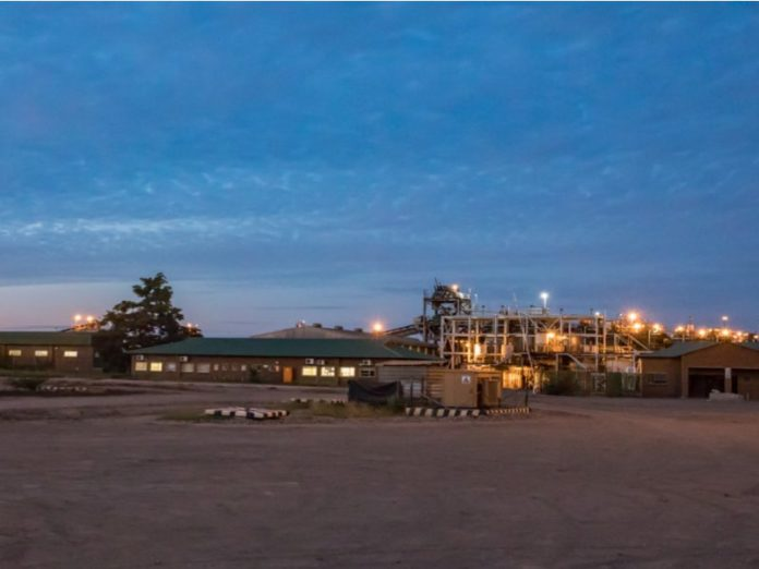 Cradle Arc Mowana copper mine and process plant