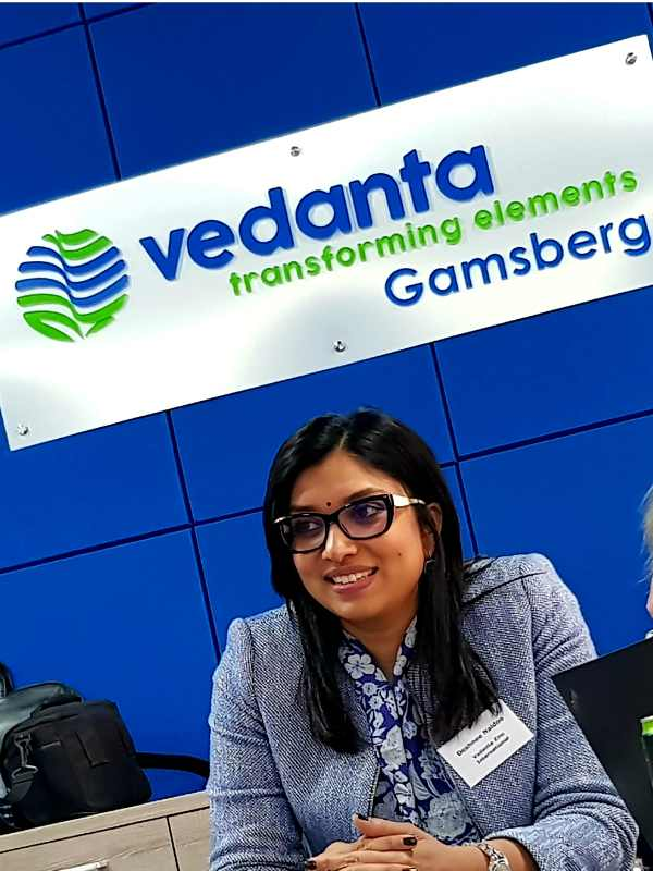 Deshnee Naidoo Vedanta Zinc International