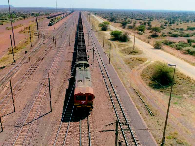 Image result for Transnet Freight Rail now operates a four-kilometer longest train