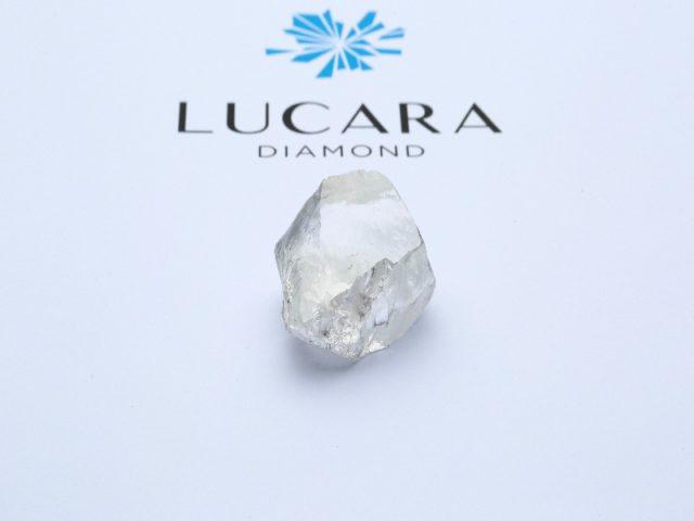 549 carat white diamond Lucara