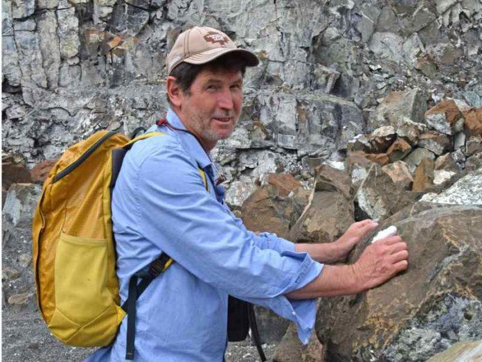 Professor Rais Latypov geology