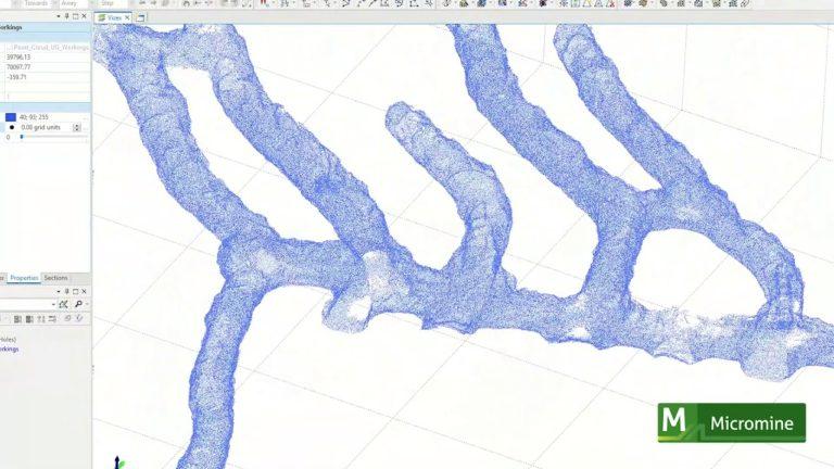 Micromine 2020.5 – NEW Laser Scan Surveys